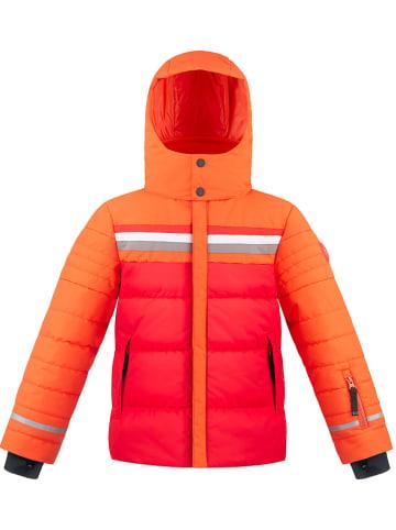 Poivre Blanc Kurtka narciarska w kolorze czerwono-pomarańczowym