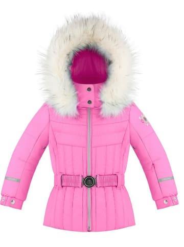 Poivre Blanc Kurtka narciarska w kolorze różowym