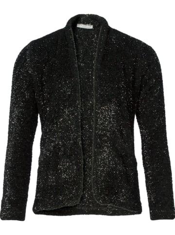 Geisha Vest zwart/zilverkleurig