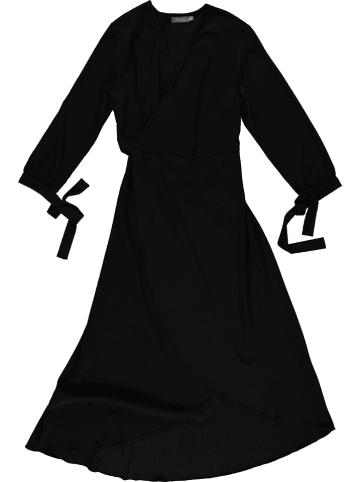 Geisha Kleid in Schwarz
