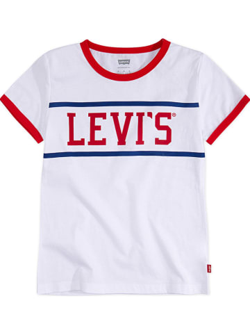 "Levi's Kids Shirt ""Logo Ringer"" wit"