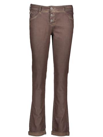 """MAVI Dżinsy """"Andrea"""" - Slim fit - w kolorze brązowym"""