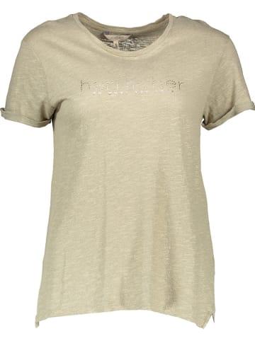 "Herrlicher Shirt ""Kendall"" olijfgroen"
