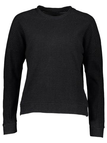 """Herrlicher Sweatshirt """"Sage"""" zwart"""