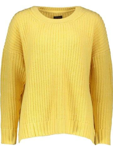 """Herrlicher Sweter """"Nellina"""" w kolorze żółtym"""