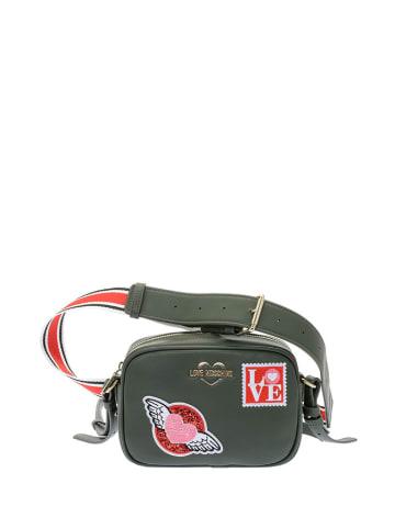Love Moschino Heuptas groen - (B)20 x (H)18 x (D)5 cm