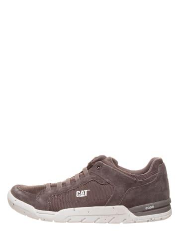 "CAT Leder-Sneakers ""Indent"" in Anthrazit"