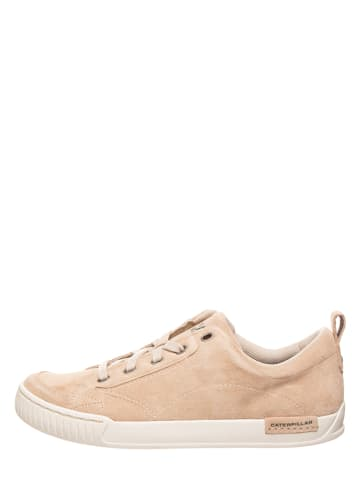"CAT Leder-Sneakers ""Modesto"" in Beige"