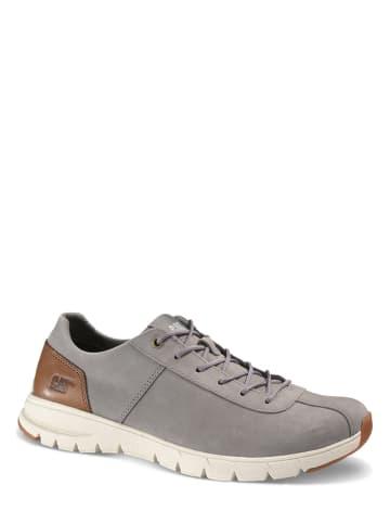 """Caterpillar Leder-Sneakers """"Navigate"""" in Grau"""