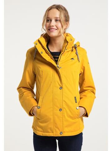 Schmuddelwedda Kurtka zimowa w kolorze żółtym
