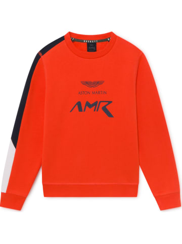 Hackett London Sweatshirt rood