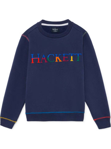 Hackett London Sweatshirt donkerblauw