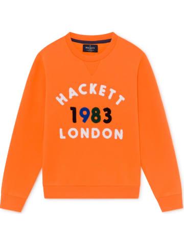 Hackett London Sweatshirt oranje