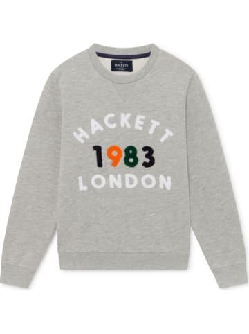 Hackett London Bluza w kolorze szarym