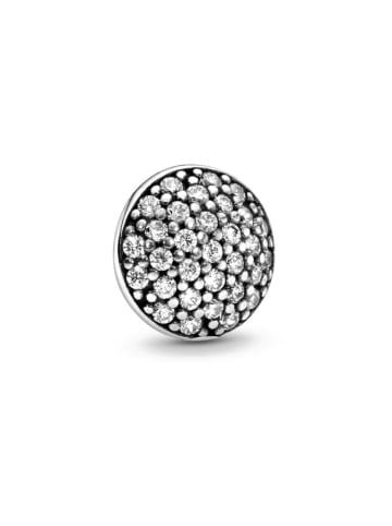 Pandora Srebrny charms z cyrkoniami