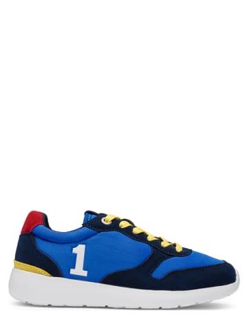 Hackett London Sneakers in Bunt
