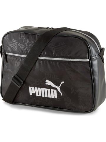 """Puma Schoudertas """"Core Up Reporter"""" zwart - (B)37,5 x (H)27 x (D)11 cm"""