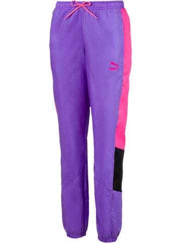 """Puma Spodnie sportowe """"TFS"""" w kolorze fioletowym"""
