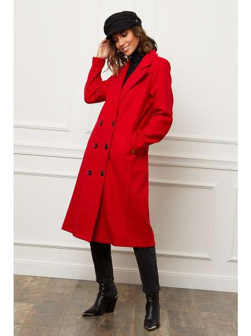 Le Comptoir du Manteau Mantel rood