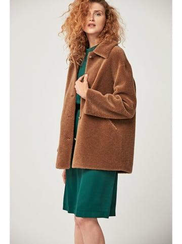 PATRIZIA ARYTON Wełniana kurtka w kolorze jasnobrązowym