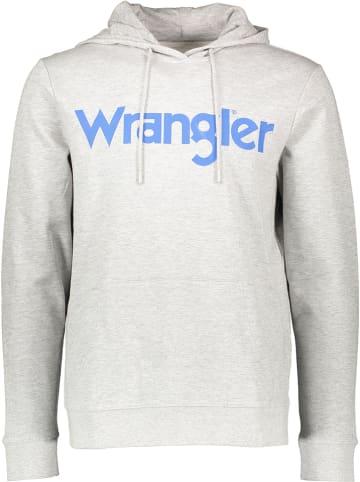 Wrangler Bluza w kolorze szarym