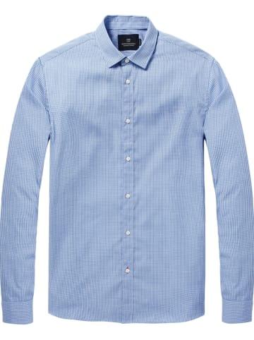 Scotch & Soda Hemd - Regular fit - in Blau