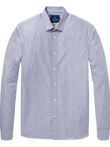 Scotch & Soda Koszula - Regular fit - w kolorze niebiesko-białym