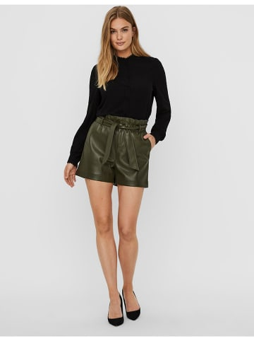 "Vero Moda Shorts ""VMSALLY"" in Dunkelgrün"
