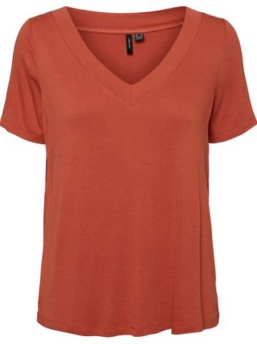 """Vero Moda Shirt """"MCAMILLA"""" roodbruin"""