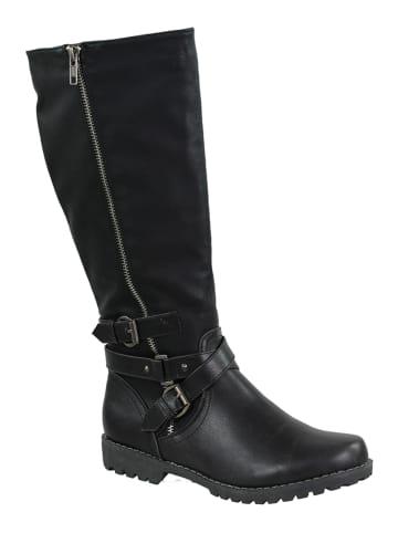 Vertigo Laarzen zwart