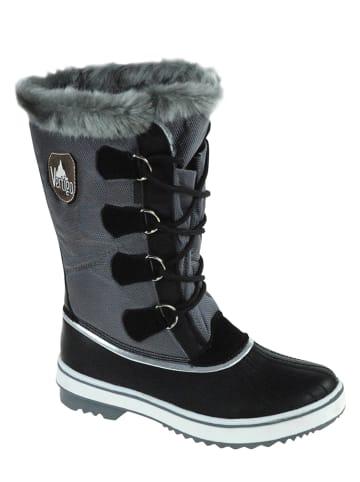 Vertigo Kozaki zimowe w kolorze czarno-szarym