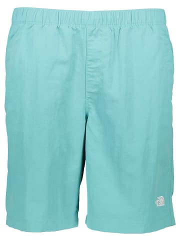 """The North Face Zwemshort ''""""Class V Rapids""""'' turquoise"""