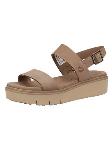 Timberland Leren sandalen taupe