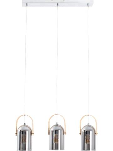 """Näve Hängeleuchte """"Vidrio"""" in Silber - (B)64 x (T)6 cm"""