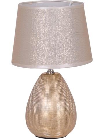 """Näve Tafellamp """"Simply Ceramics"""" goudkleurig - (H)31 cm"""