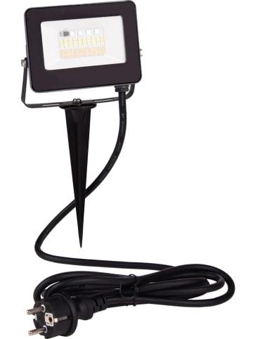 Näve Lampa zewnętrzna LED w kolorze czarnym - 13,5 x 9 cm