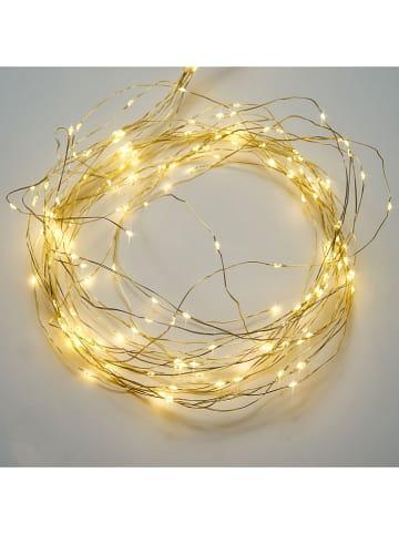 AMARE Łańcuch świetlny LED w kolorze ciepłej bieli