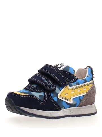 """Naturino Sneakersy """"Crunck"""" w kolorze niebieskim"""