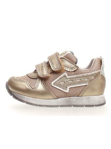 """Naturino Sneakers """"Crunck"""" goudkleurig"""
