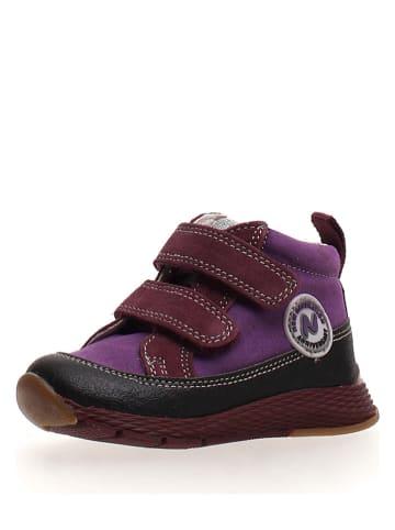 """Naturino Sneakersy """"Snory"""" w kolorze fioletowym"""