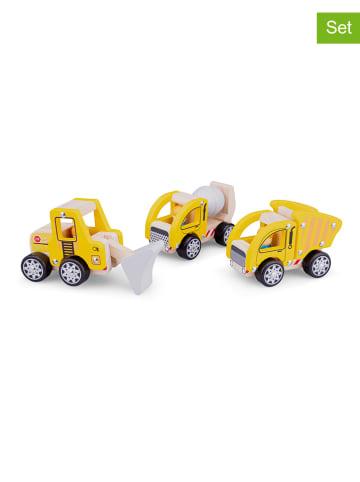 New Classic Toys Pojazdy budowalen (3 szt.) - 18 m+