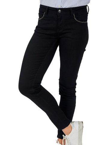 Galvanni Spodnie w kolorze czarnym