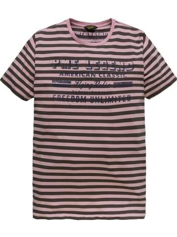 PME Legend Shirt lichtroze/bruin