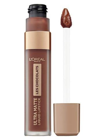 """L'Oréal Paris Farbka do ust """"Ultra Matte Les Chocolats - 868 Cacao Crush"""" - 7,6 ml"""