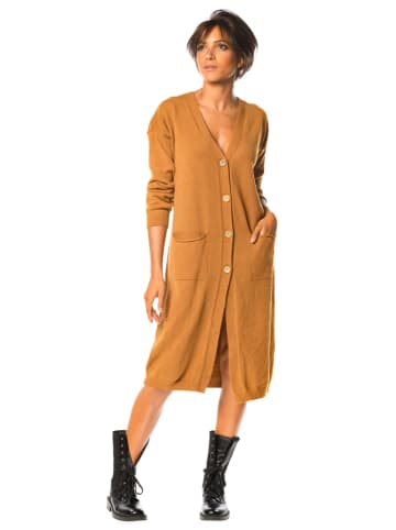 """So Cachemire Cardigan """"Amy"""" in Camel"""