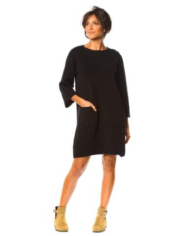 """So Cachemire Sukienka """"Donna"""" w kolorze czarnym"""
