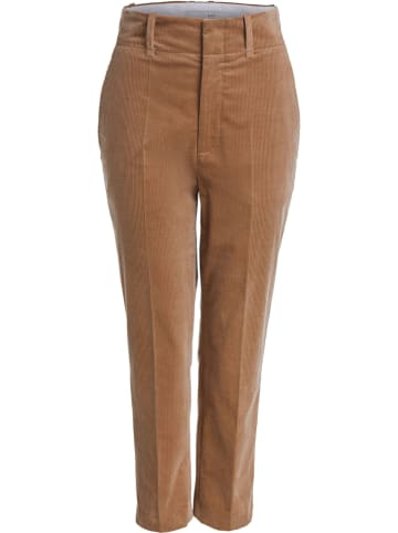 Oui Hose - Tapered fit - in Camel