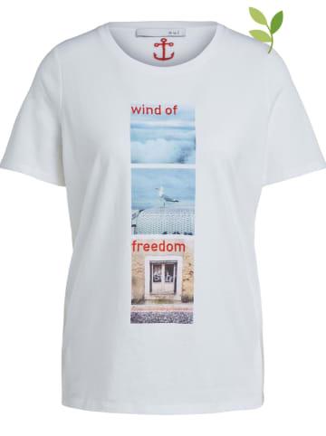 Oui Koszulka w kolorze białym
