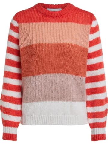 Oui Pullover in Orange/ Rot