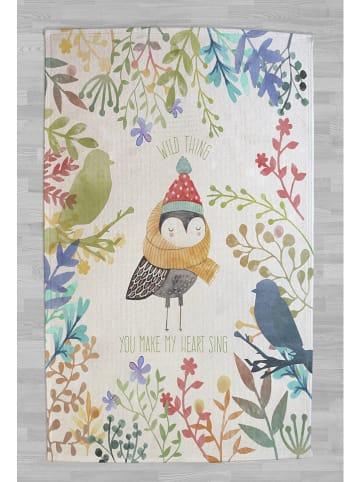 "Little nice things Baumwoll-Teppich ""Wild Thing"" in Bunt - (L)190 x (B)135 cm"